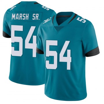 Youth Nike Jacksonville Jaguars Cassius Marsh Teal Vapor Untouchable Jersey - Limited