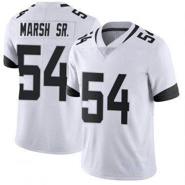 Youth Nike Jacksonville Jaguars Cassius Marsh White Vapor Untouchable Jersey - Limited