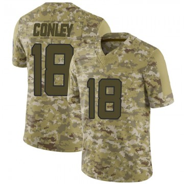 Youth Nike Jacksonville Jaguars Chris Conley Camo 2018 Salute to Service Jersey - Limited