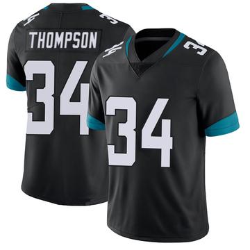 Youth Nike Jacksonville Jaguars Chris Thompson Black 100th Vapor Untouchable Jersey - Limited
