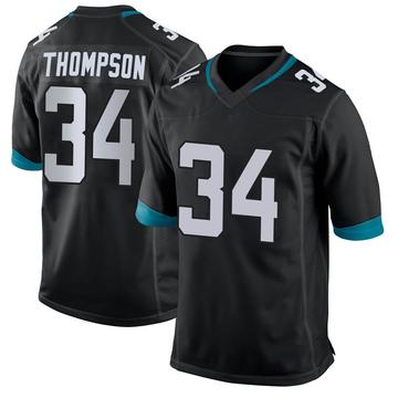 Youth Nike Jacksonville Jaguars Chris Thompson Black Jersey - Game