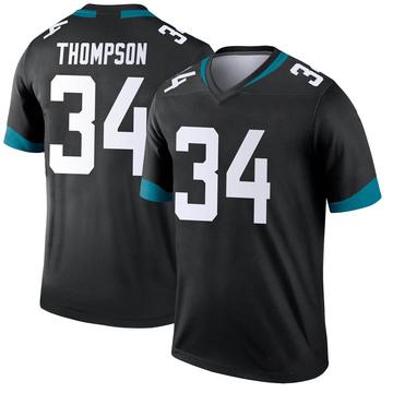 Youth Nike Jacksonville Jaguars Chris Thompson Black Jersey - Legend