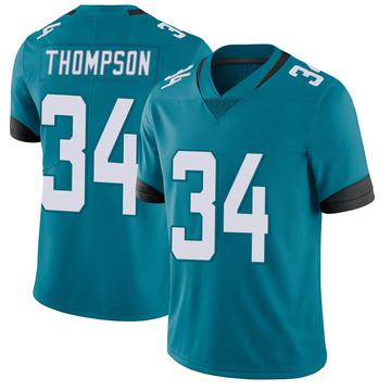 Youth Nike Jacksonville Jaguars Chris Thompson Teal Vapor Untouchable Jersey - Limited