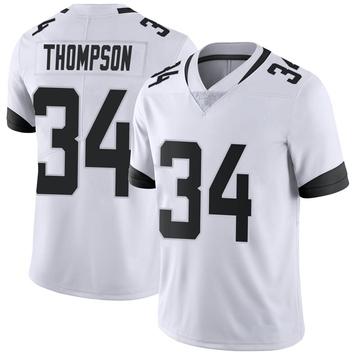 Youth Nike Jacksonville Jaguars Chris Thompson White Vapor Untouchable Jersey - Limited