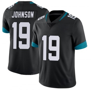 Youth Nike Jacksonville Jaguars Collin Johnson Black 100th Vapor Untouchable Jersey - Limited