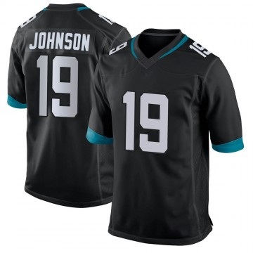 Youth Nike Jacksonville Jaguars Collin Johnson Black Jersey - Game