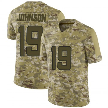 Youth Nike Jacksonville Jaguars Collin Johnson Camo 2018 Salute to Service Jersey - Limited
