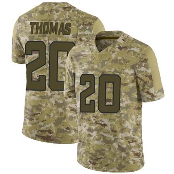 Youth Nike Jacksonville Jaguars Daniel Thomas Camo 2018 Salute to Service Jersey - Limited