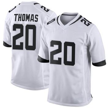 Youth Nike Jacksonville Jaguars Daniel Thomas White Jersey - Game