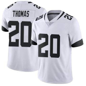 Youth Nike Jacksonville Jaguars Daniel Thomas White Vapor Untouchable Jersey - Limited