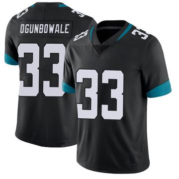 Youth Nike Jacksonville Jaguars Dare Ogunbowale Black 100th Vapor Untouchable Jersey - Limited