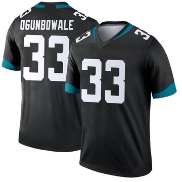Youth Nike Jacksonville Jaguars Dare Ogunbowale Black Jersey - Legend