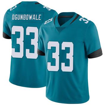 Youth Nike Jacksonville Jaguars Dare Ogunbowale Teal Vapor Untouchable Jersey - Limited