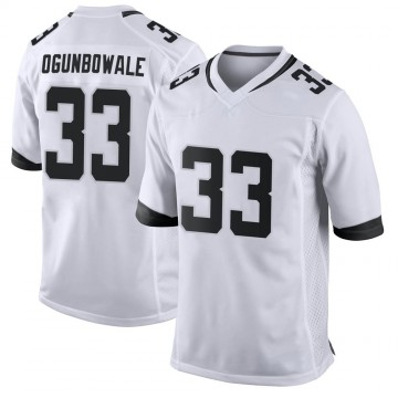 Youth Nike Jacksonville Jaguars Dare Ogunbowale White Jersey - Game
