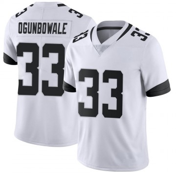 Youth Nike Jacksonville Jaguars Dare Ogunbowale White Vapor Untouchable Jersey - Limited