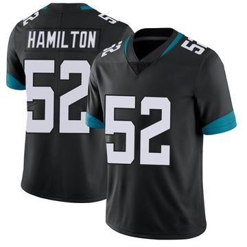Youth Nike Jacksonville Jaguars Davon Hamilton Black Vapor Untouchable Jersey - Limited