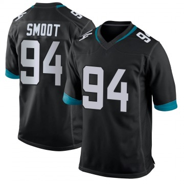 Youth Nike Jacksonville Jaguars Dawuane Smoot Black Jersey - Game