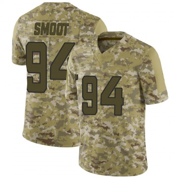 Youth Nike Jacksonville Jaguars Dawuane Smoot Camo 2018 Salute to Service Jersey - Limited