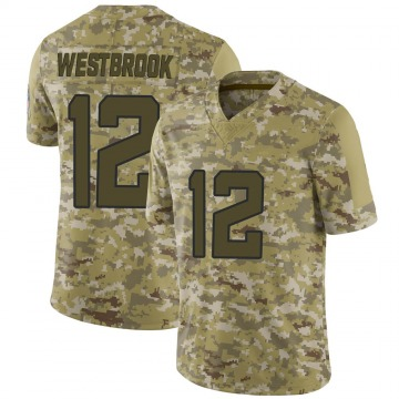 Youth Nike Jacksonville Jaguars Dede Westbrook Camo 2018 Salute to Service Jersey - Limited