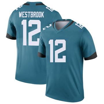 Youth Nike Jacksonville Jaguars Dede Westbrook Teal Color Rush Jersey - Legend