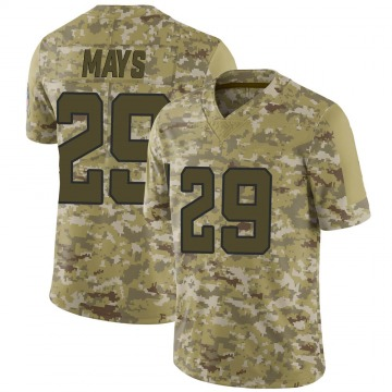 Youth Nike Jacksonville Jaguars Devante Mays Camo 2018 Salute to Service Jersey - Limited