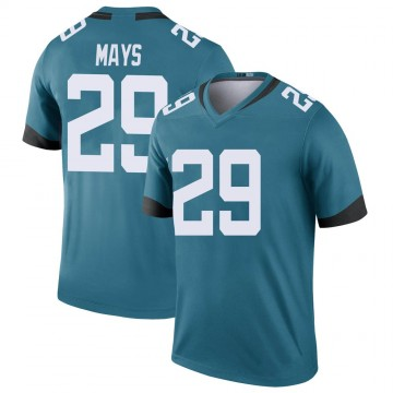 Youth Nike Jacksonville Jaguars Devante Mays Teal Color Rush Jersey - Legend