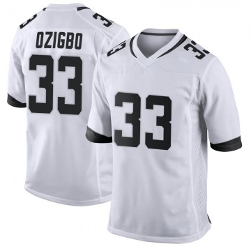 Youth Nike Jacksonville Jaguars Devine Ozigbo White Jersey - Game