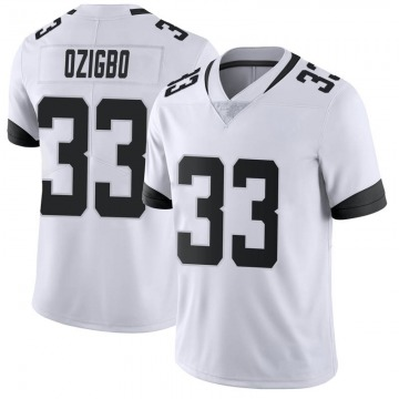 Youth Nike Jacksonville Jaguars Devine Ozigbo White Vapor Untouchable Jersey - Limited