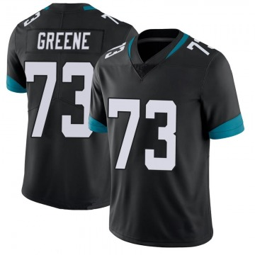Youth Nike Jacksonville Jaguars Donnell Greene Green 100th Vapor Untouchable Black Jersey - Limited