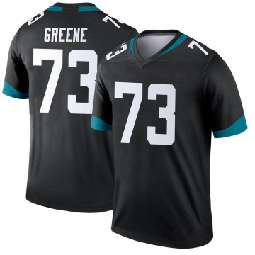 Youth Nike Jacksonville Jaguars Donnell Greene Green Black Jersey - Legend