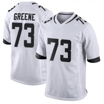 Youth Nike Jacksonville Jaguars Donnell Greene White Jersey - Game