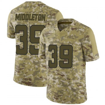 Youth Nike Jacksonville Jaguars Doug Middleton Camo 2018 Salute to Service Jersey - Limited