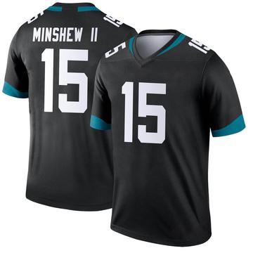 Youth Nike Jacksonville Jaguars Gardner Minshew Black Jersey - Legend
