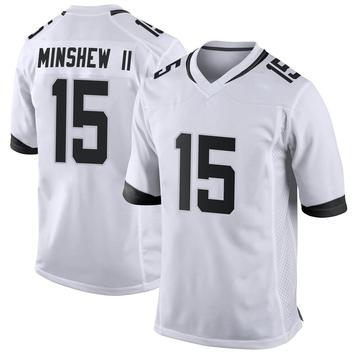 Youth Nike Jacksonville Jaguars Gardner Minshew White Jersey - Game