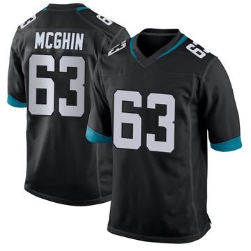 Youth Nike Jacksonville Jaguars Garrett McGhin Black Jersey - Game