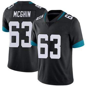 Youth Nike Jacksonville Jaguars Garrett McGhin Black Vapor Untouchable Jersey - Limited