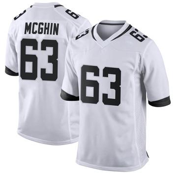 Youth Nike Jacksonville Jaguars Garrett McGhin White Jersey - Game