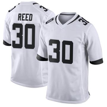 Youth Nike Jacksonville Jaguars J.R. Reed White Jersey - Game