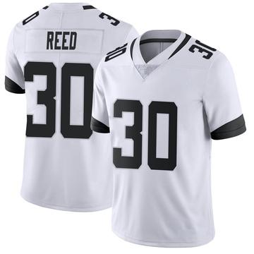 Youth Nike Jacksonville Jaguars J.R. Reed White Vapor Untouchable Jersey - Limited