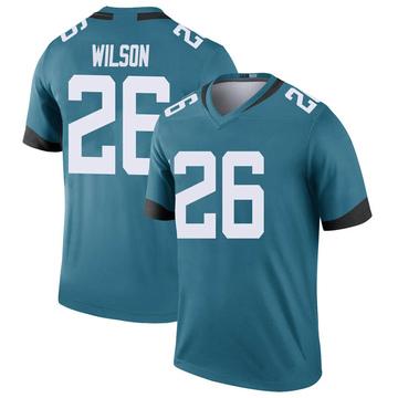 Youth Nike Jacksonville Jaguars Jarrod Wilson Teal Color Rush Jersey - Legend