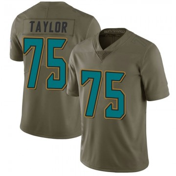 Youth Nike Jacksonville Jaguars Jawaan Taylor Green 2017 Salute to Service Jersey - Limited