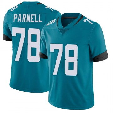 Youth Nike Jacksonville Jaguars Jermey Parnell Teal Vapor Untouchable Jersey - Limited