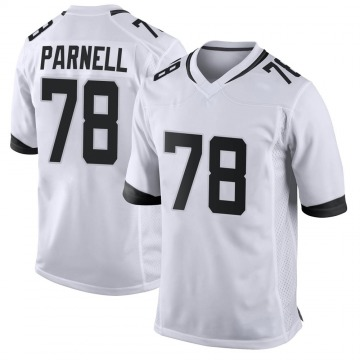 Youth Nike Jacksonville Jaguars Jermey Parnell White Jersey - Game