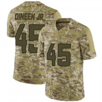Youth Nike Jacksonville Jaguars Joe Dineen Jr. Camo 2018 Salute to Service Jersey - Limited