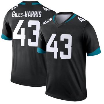 Youth Nike Jacksonville Jaguars Joe Giles-Harris Black Jersey - Legend