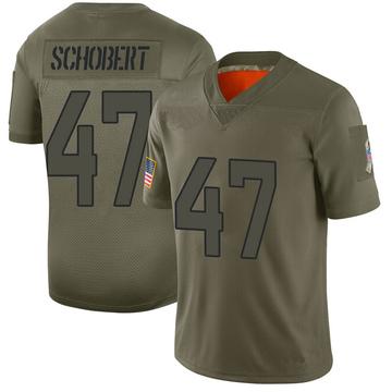 Youth Nike Jacksonville Jaguars Joe Schobert Camo 2019 Salute to Service Jersey - Limited