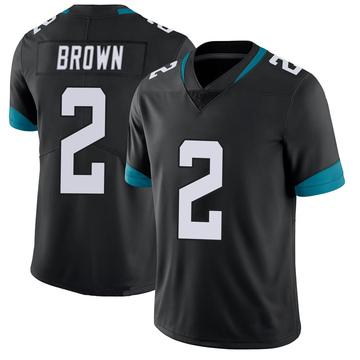 Youth Nike Jacksonville Jaguars Jonathan Brown Black 100th Vapor Untouchable Jersey - Limited