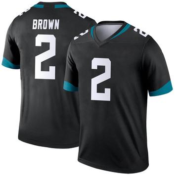 Youth Nike Jacksonville Jaguars Jonathan Brown Black Jersey - Legend