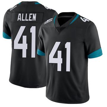 Youth Nike Jacksonville Jaguars Josh Allen Black 100th Vapor Untouchable Jersey - Limited