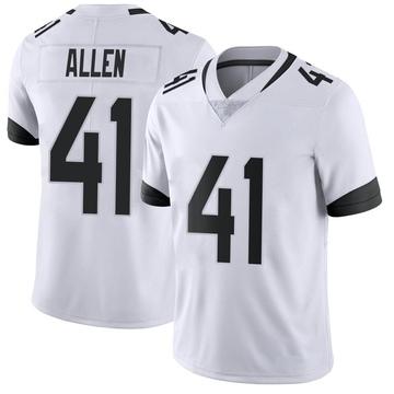 Youth Nike Jacksonville Jaguars Josh Allen White Vapor Untouchable Jersey - Limited